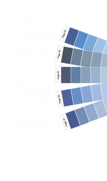 χρωματολόγιο ISOMAT βεντάλια χρωμάτων